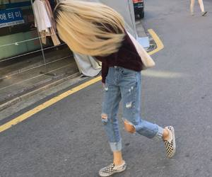 blonde, ulzzang, and clothes image
