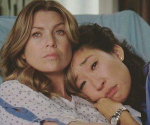 grey's anatomy, meredith, and cristina yang image