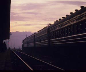 80s, china, and railway station image