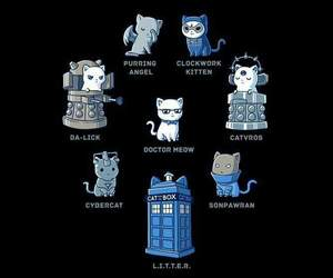 cats and doctor who image