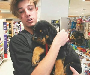 cameron dallas, dog, and Dallas image
