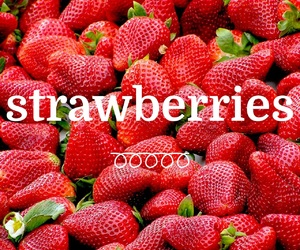 berries, delicious, and easel image