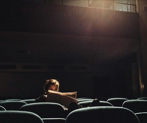 girl, cinema, and photography image