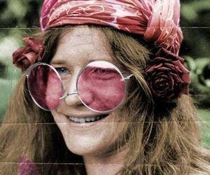 janis joplin, 60s, and hippie image