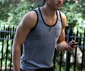 chris wood, tvd, and Hot image