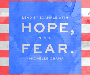 inspiring, michelle obama, and life quotes image