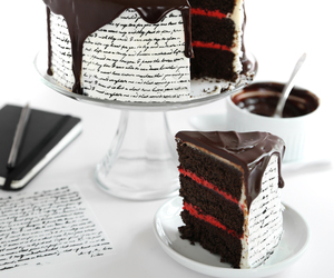 chocolate, sweet, and love image