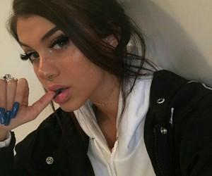 sahar luna, girl, and makeup image