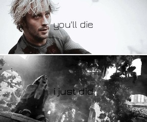 Avengers, Marvel, and quicksilver image