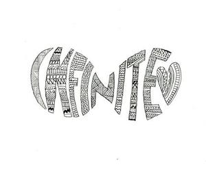 love, infinite, and drawing image