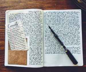bullet journal and writing image