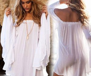 boho, summer, and dress image