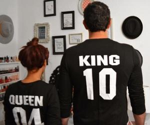 boy, couple, and king image