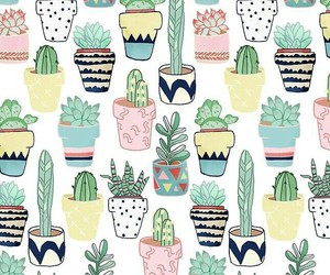 wallpaper, cactus, and background image
