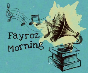 morning music, fayroz, and فيروز image