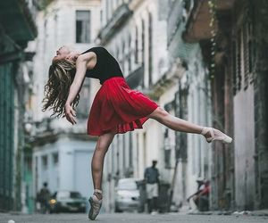 dance, ballet, and street image
