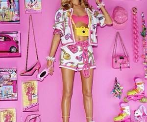 barbie, girl, and Moschino image