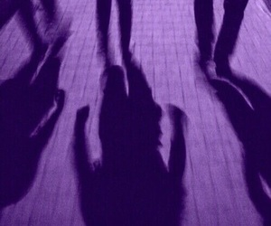 purple, ombre, and grunge image