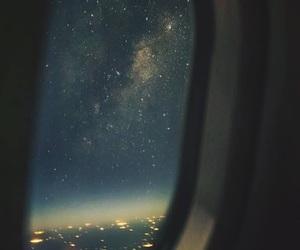 stars and plane image