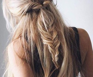 braids, hairstyles, and clothes image
