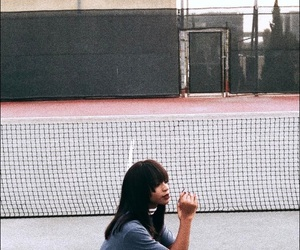 tennis court, fifth harmony, and normani kordei image