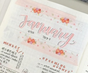 journal, pink, and tumblr image