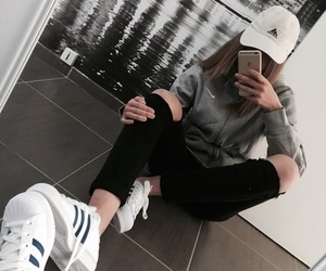 adidas, tumblr, and outfit image
