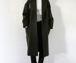 fashion, peacoat, and turtleneck image