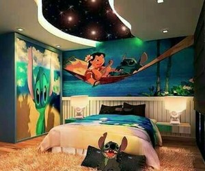 disney, stitch, and room image