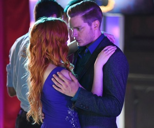 clace, dominic sherwood, and shadowhunters image