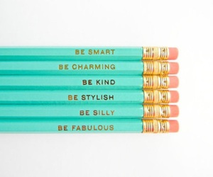 pencil, fabulous, and smart image