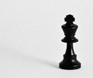 chess, aesthetic, and black image