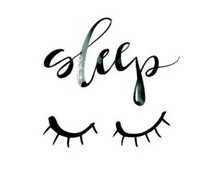 sleep, quotes, and eyes image