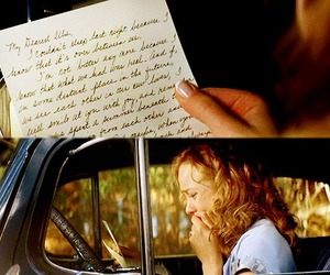 the notebook, Letter, and movie image