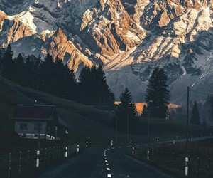 journey, mountain, and road image