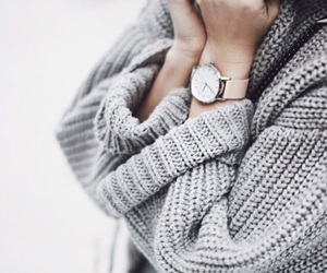 artsy, sweater, and warm image