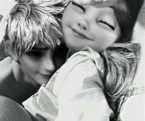 black and white, love, and jack frost modern edits image
