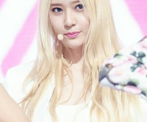 blonde, fx, and kpop image