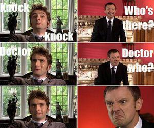 funny, doctor who, and text image