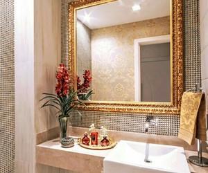 beautiful, bathroom, and chic image