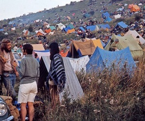 hippie, indie, and tent image