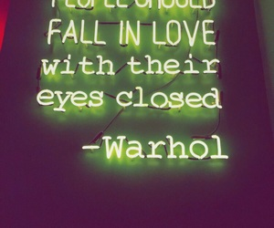 quotes, warhol, and green image