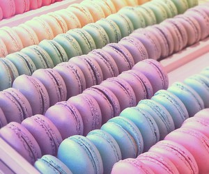 beautiful, colorful, and dessert image