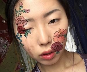 art, asian, and drawing image