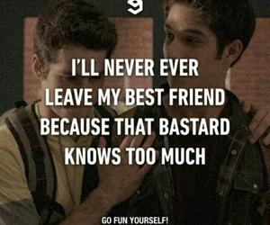 best friend and teen wolf image