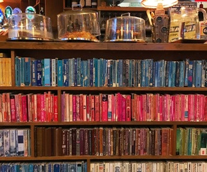 books, caffee, and colour image