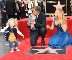blake lively, ryan reynolds, and family image