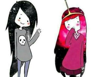 adventure time, marceline, and princess image