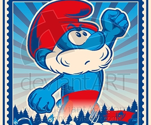 blue, cartoon, and childhood image