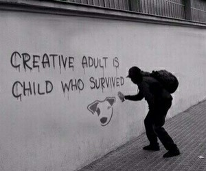 quotes, creative, and child image